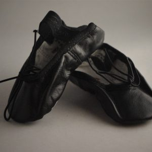 Boys Black Ballet Shoe