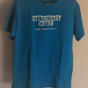 Blue Kindergym T-Shirt