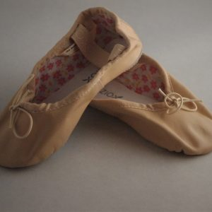 Girls Pink Ballet Shoes