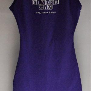 Girls Purple Gym Leotard
