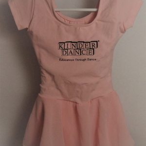 Girls Pink Skirted Leotard